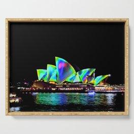 Sydney Opera House Vivid Light Show Serving Tray