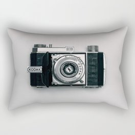 ANALOGUE - APERTURE - BLACK - AND - WHITE - PHOTOGRAPHY Rectangular Pillow