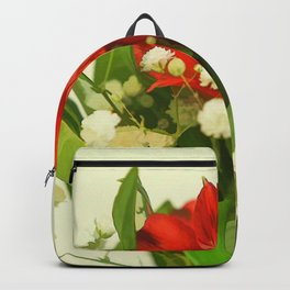 Modified - Still life with flowers Backpack