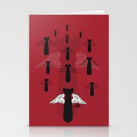 angels Stationery Cards featuring Angels by Juan Carlos Campos