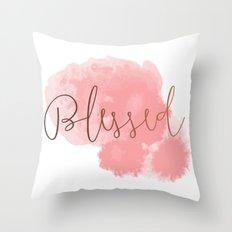Blessed #society6 #decor #buyart Throw Pillow