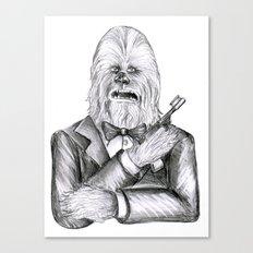 Wookie 007 Canvas Print