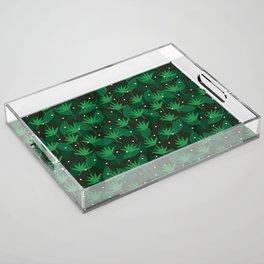 greenery Acrylic Tray