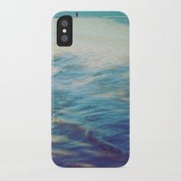 Fisherman in the distance, Mauritius II iPhone Case