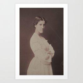 Charlotte Perkins Gilman Art Print