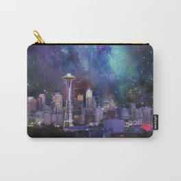 Spacey Seattle Carry-All Pouch