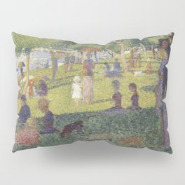 Georges Seurat's A Sunday Afternoon on the Island of La Grande Jatte Pillow Sham