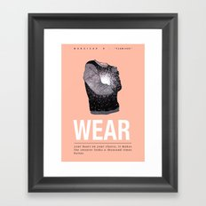 Flawless II Framed Art Print