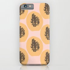 Papaya Print Slim Case iPhone 6s