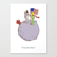 I Was Here First Canvas Print