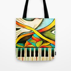 Piano- Behold Tote Bag