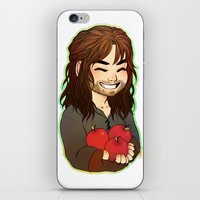 kili iPhone & iPod Skins featuring Kili by angryorangecat