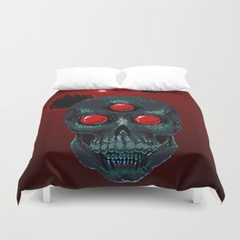 Horror From Beyond Time and Spaaaaaaace! Duvet Cover