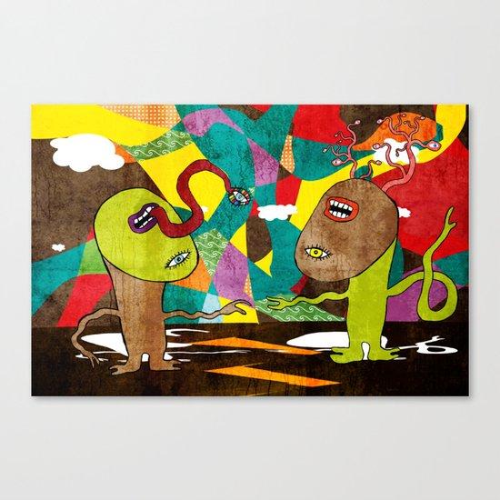 Schism Canvas Print