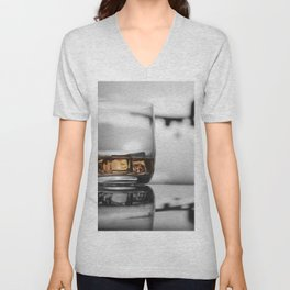 Airport on Ice Unisex V-Neck