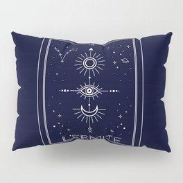 The Hermite or L'Ermite Tarot Pillow Sham