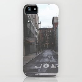 Street of new york iPhone Case