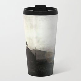 Living in Ghost Town Travel Mug