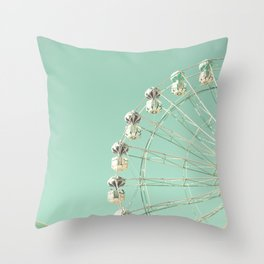 Magic Wheel Throw Pillow