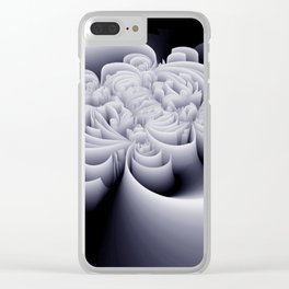 black-and-white -06- Clear iPhone Case