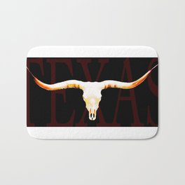 Texas Longhorns By Sharon Cummings Bath Mat