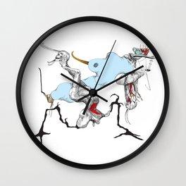 Adam & Eve II Wall Clock
