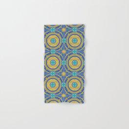 Seamless pattern of gold arabesques. Patterns. Hand & Bath Towel