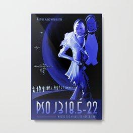 Vintage poster - Pso J318.5-22 Metal Print