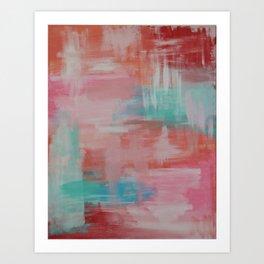 Abstract Wall Art Art Print