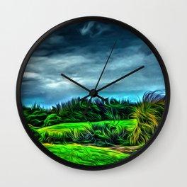 Marine Gardens Wall Clock
