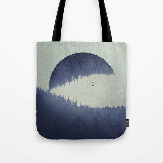 Spaces V - let it go Tote Bag