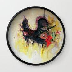 methy megadrive badgirl Wall Clock