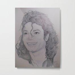 Smiling Michael Metal Print