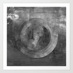 Circle Distortions #5 Art Print