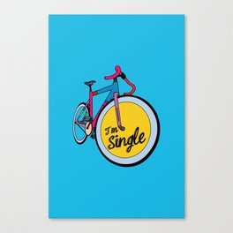 I´m Single Canvas Print