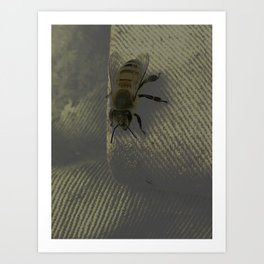 Bubba the Bumble Bee Art Print