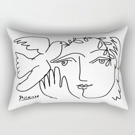 Picasso - Dove of peace Rectangular Pillow