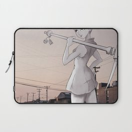 Pickaxe Girl Laptop Sleeve