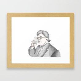 Cigars and Smoke Framed Art Print
