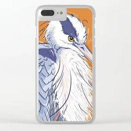 Lightly Ruffled Clear iPhone Case