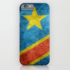 National flag of the Democratic Republic of the Congo, Vintage version (to scale) Slim Case iPhone 6s
