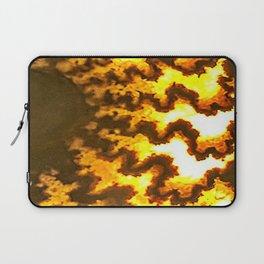 Sutured Ammonite Laptop Sleeve