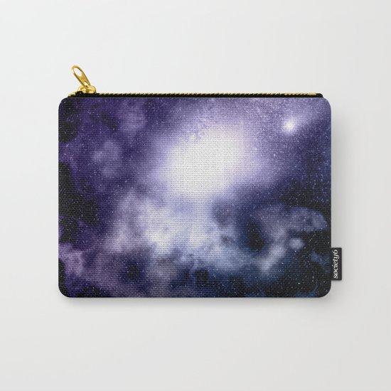 Purple Nebula Carry-All Pouch