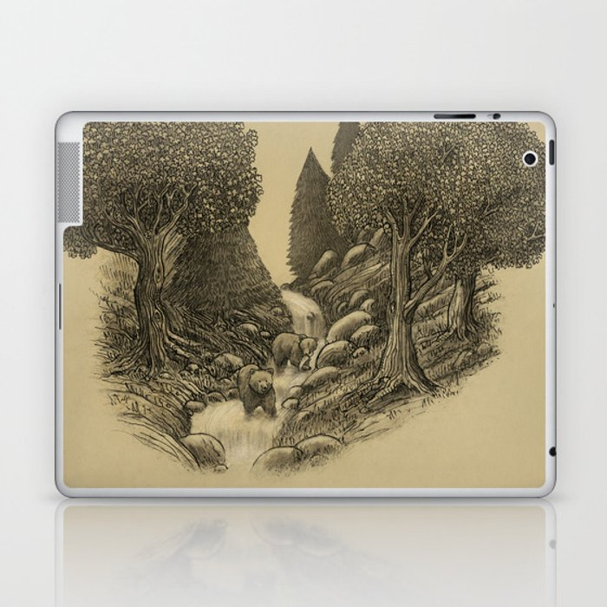 Bear Creek  Laptop & iPad Skin