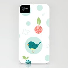 Birds with Polka Dots Slim Case iPhone (4, 4s)