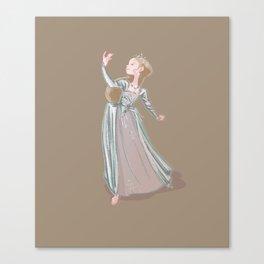Katherine Howard - fifth Henri VIII wife Canvas Print