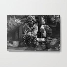 Fish Markets in Vietnam Metal Print