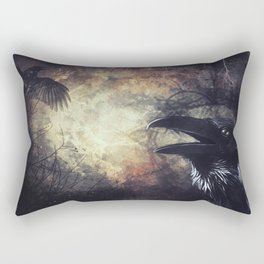 Huginn ok Muninn Rectangular Pillow