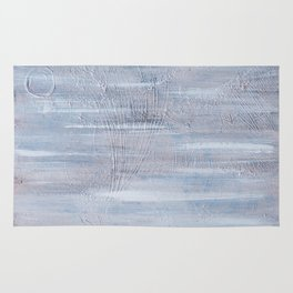 White view and movement Rug