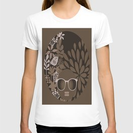 Afro Diva : Brown Sophisticated Lady T-shirt